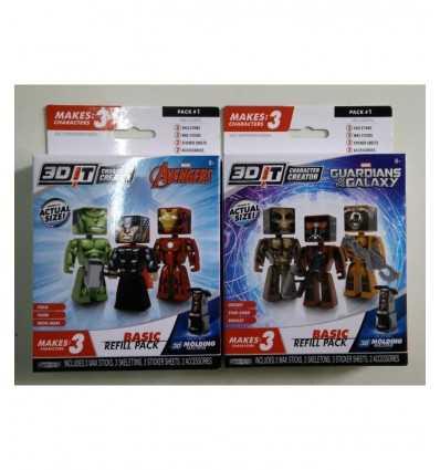 Modelos de personajes EN 3-Pack Marvel 2 3D GPZ95168 Giochi Preziosi- Futurartshop.com