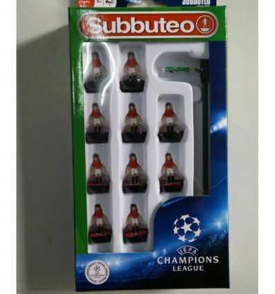 Subbuteo team champions league red white GPZ03169/BAY Giochi Preziosi- Futurartshop.com