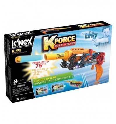 K'NEX K-10 x pistolet z rzutki HDG47800/47516 K'Nex- Futurartshop.com