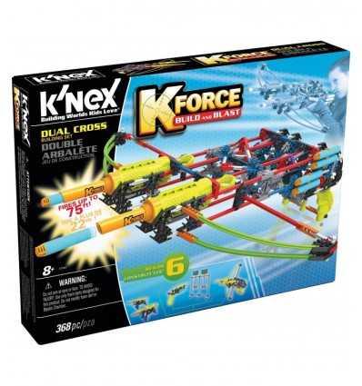 K'NEX dubbla korset med armborst dart HDG47816/47526 K'Nex- Futurartshop.com