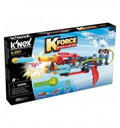 K ' NEX K 20 ライフル ダーツ HDG47801/47524 K'Nex- Futurartshop.com