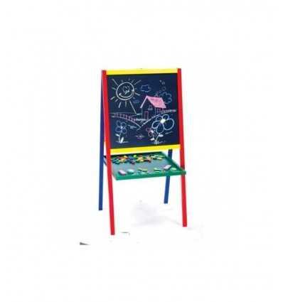 Maxi lavagna in legno bifacciale magnetica RDF50085 RDF50085 Giochi Preziosi- Futurartshop.com