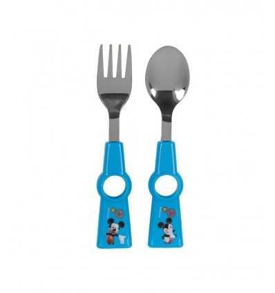 Posate in metallo Mickey Mouse HDG5526552 HDG5526552 Giochi Preziosi-Futurartshop.com