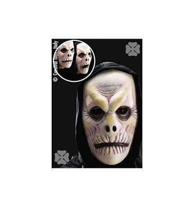 Foam latex zombie mask with hood 01033 Carnival Toys- Futurartshop.com