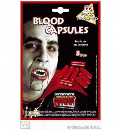 8 set Halloween Blut-Kapseln WI004024 - Futurartshop.com