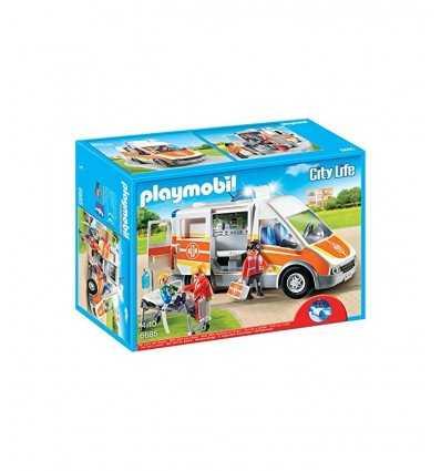 Ambulans med ljus och ljud 6685 Playmobil- Futurartshop.com