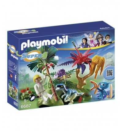 Playmobil the lost island conalien and raptor 6687 Playmobil- Futurartshop.com