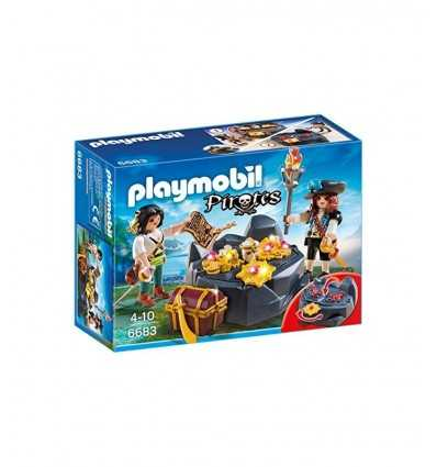Playmobil treasure cache 6683 Playmobil- Futurartshop.com