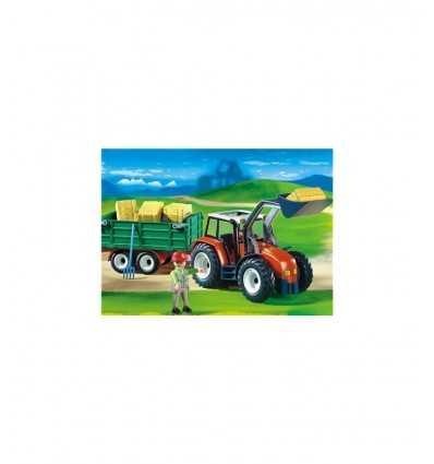 Playmobil tractor with trailer 4496 Playmobil- Futurartshop.com