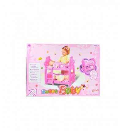 bunk cot with accessories 5678.25500 Grandi giochi- Futurartshop.com