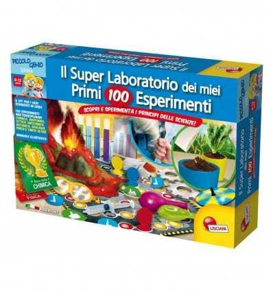 小さな天才私の最初 100 の実験 51755 Lisciani- Futurartshop.com