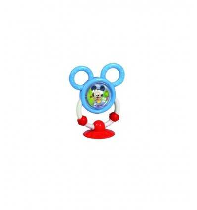 Mickey mouse squeaky toy with suction cup 141092 Clementoni- Futurartshop.com