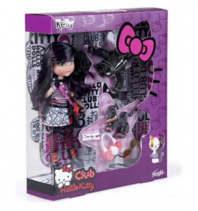 Club docka hello kitty utstyrsel kelly 790000750 Famosa- Futurartshop.com