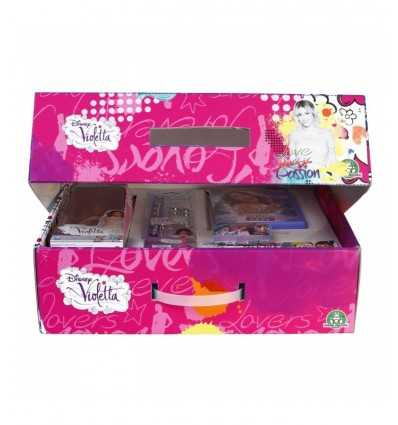 4 Violetta nunca amigos maleta con kit dvd NCR02386 Giochi Preziosi- Futurartshop.com
