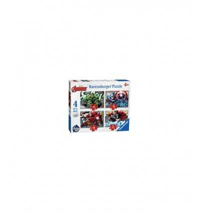 Puzzle 4 en 1 Vengeurs 07021 Ravensburger- Futurartshop.com