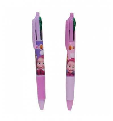 multicolor pen masha and bear 2 colors 154461/2 Accademia- Futurartshop.com