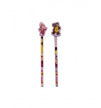 blyertspenna med radergummi masha och bear 2 modeller 154461/1 Accademia- Futurartshop.com