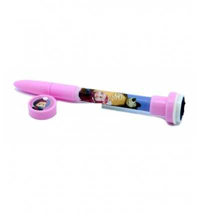 pen with stamp masha and the bear 154461/6 Accademia- Futurartshop.com