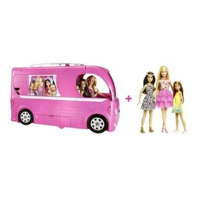 3 の人形で飾られたキャンパー バンドル DRF31 Mattel- Futurartshop.com