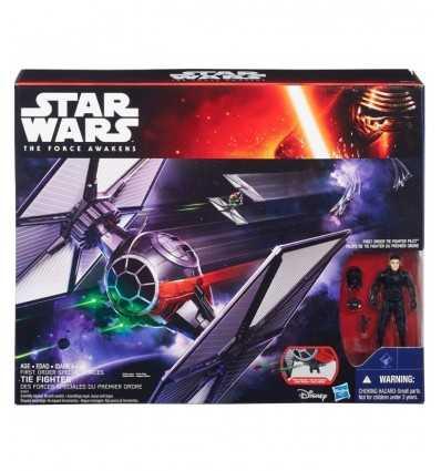 veicolo star wars deluxe tie fighter con personaggio B3920EU40 Hasbro-Futurartshop.com