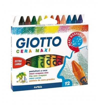 Giotto pastelli a cera maxi 12 pz 291200 291200 Fila- Futurartshop.com