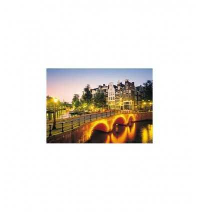 Puzzle 1000 Teile Amsterdam Clementoni- Futurartshop.com