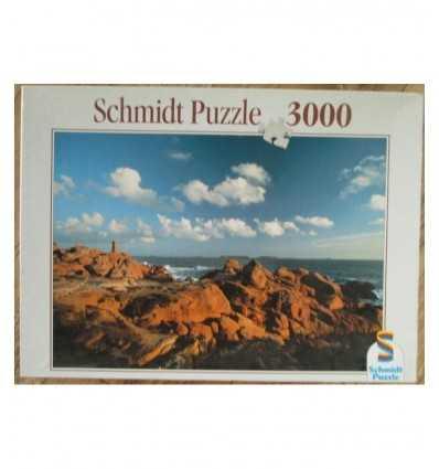Costa de bretonica Schmidt puzzle de 3000 piezas - Futurartshop.com