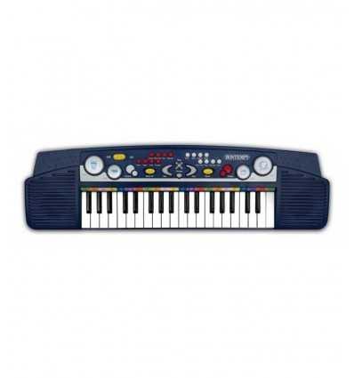37 tangenter tangentbord med ljuseffekter Bontempi- Futurartshop.com