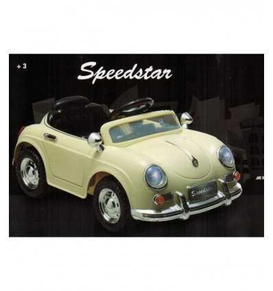 SpeedStar weiß Radiocomnadata Auto - Futurartshop.com