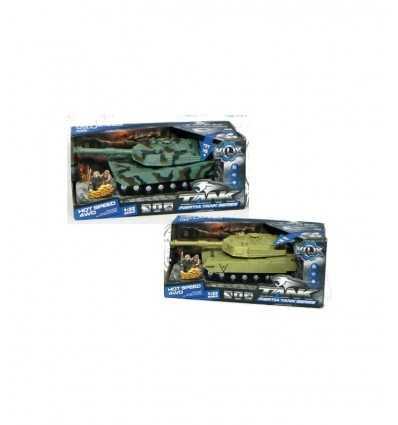 Tank mit Sound- und Lichtanlage Kupplung 2 Farben 431963 Grandi giochi- Futurartshop.com