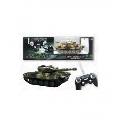 infrared remote-controlled tank 2 colors 399751 Grandi giochi- Futurartshop.com