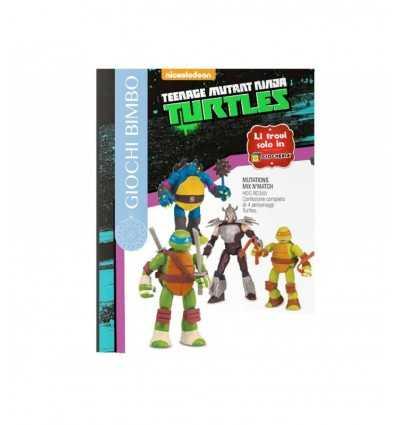 turtles 4 personaggi mix and match HDG90355 Giochi Preziosi-Futurartshop.com