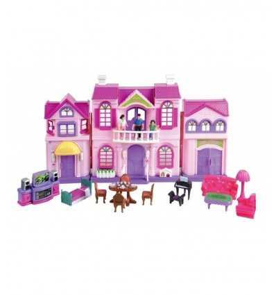 casa delle bambole con accessori luci e suoni GG61401 Grandi giochi-Futurartshop.com