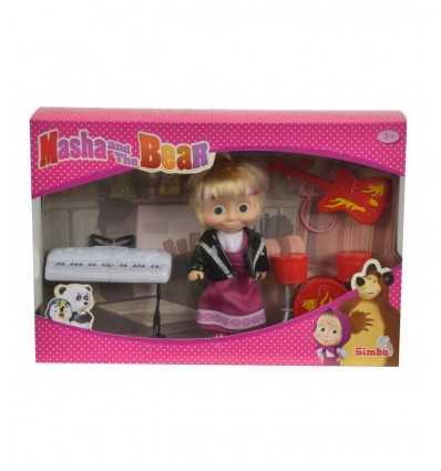 Doll masha music rock 109301682 Simba Toys- Futurartshop.com