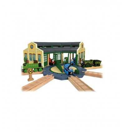 Mattel Deposito di Tidmouth Wooden Railway Y4367 Y4367 Mattel- Futurartshop.com