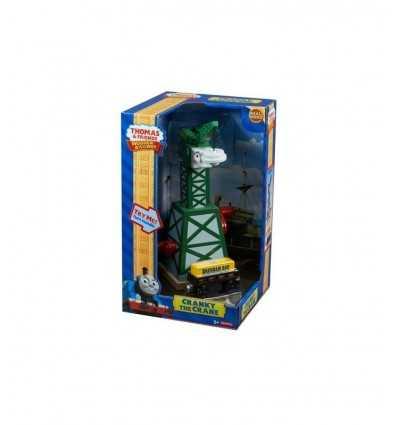 Mattel Cranky la Gru Wooden Railway Y4368 Y4368 Mattel-Futurartshop.com