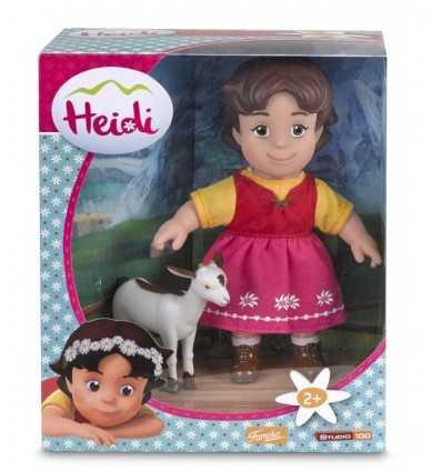 heidi bambola con capretta 700012250 Famosa-Futurartshop.com