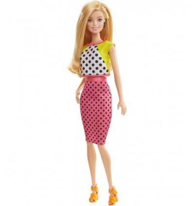 Barbie fashionistas with Fuchsia and white polka dot dress DGY54/DGY62 Mattel- Futurartshop.com