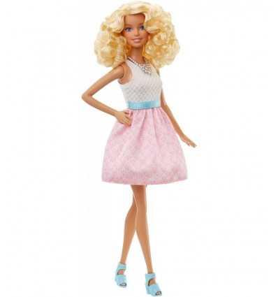 ピンクのスカートと白のトップとバービー ファッショニスタ DGY54/DGY57 Grandi giochi- Futurartshop.com