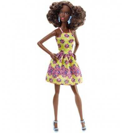 Barbie fashionistas amarillo de vestido de flores con amigos africanos DGY54/DGY65 Mattel- Futurartshop.com