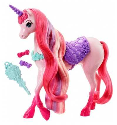 素敵な髪型とユニコーン DHC38-0 Mattel- Futurartshop.com