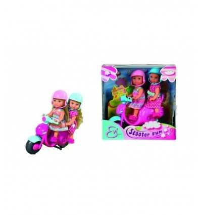 スクーターのエヴィの愛ドール 2 ガール フレンド 105730485 Simba Toys- Futurartshop.com