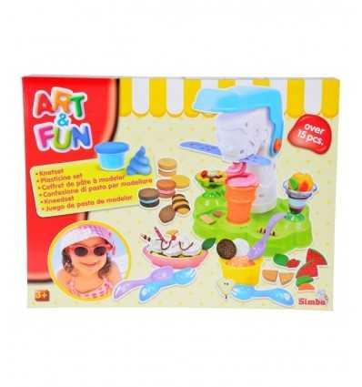 plastilina crea helados 106329788 Simba Toys- Futurartshop.com