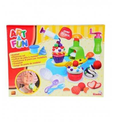 tworzy zestaw modelowania gliny ciastko 106329789 Simba Toys- Futurartshop.com