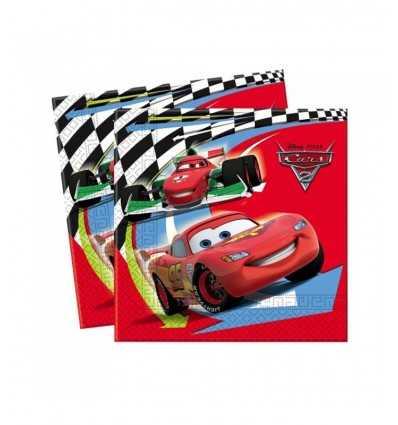 20 Servietten 33 x 33 cm Autos CMG7518 Como Giochi - Futurartshop.com