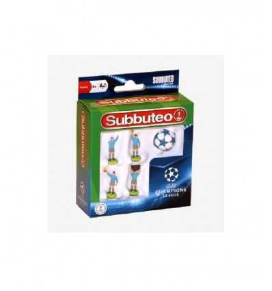 subbuteo ucl 4 arb+pal GPZ03171 Giochi Preziosi- Futurartshop.com