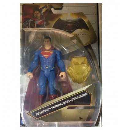 the superman character with shield DJG28/DJG29 Mattel- Futurartshop.com