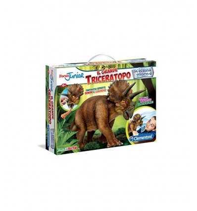 focus junior il grande triceratopo 13939 Clementoni-Futurartshop.com