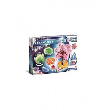 cristaux et Science Lab Game 13195/C Clementoni- Futurartshop.com