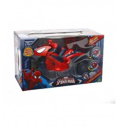 Spiderman mit RC Motorrad GPZ20608 Giochi Preziosi- Futurartshop.com